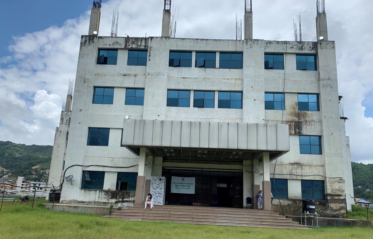 मनमोहन मेमोरियल अस्पतालद्वारा ३३३ बेडको आइसोलेसन सञ्चालन