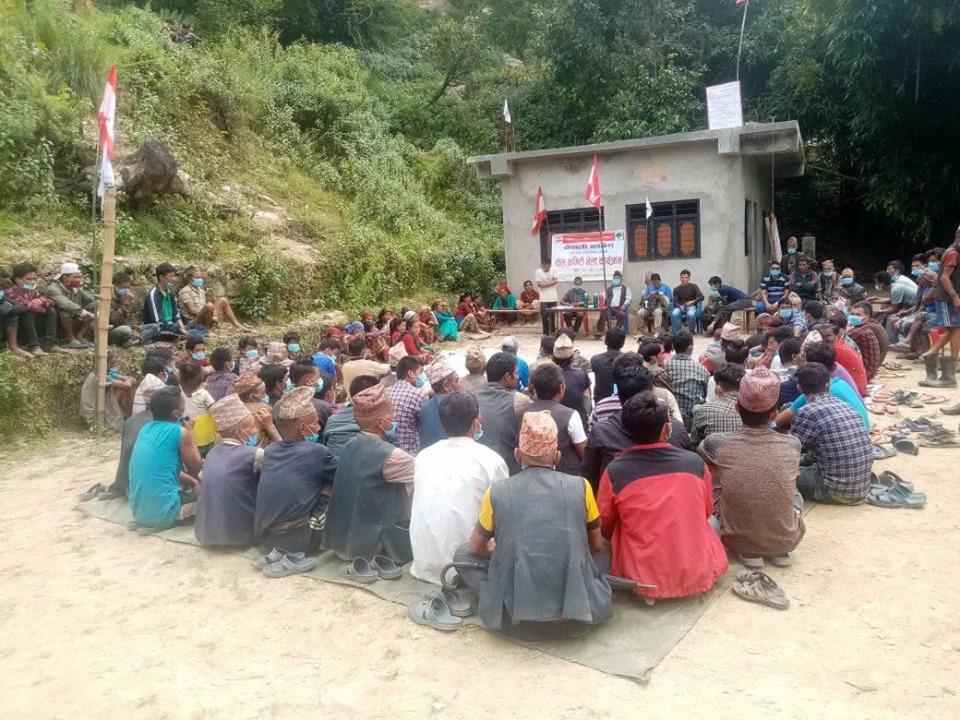 पाङमा टोल समिति बैठक सम्पन्न, विभिन्न पार्टी परित्याग गरि दर्जनौ युुवा काँग्रेस प्रवेश